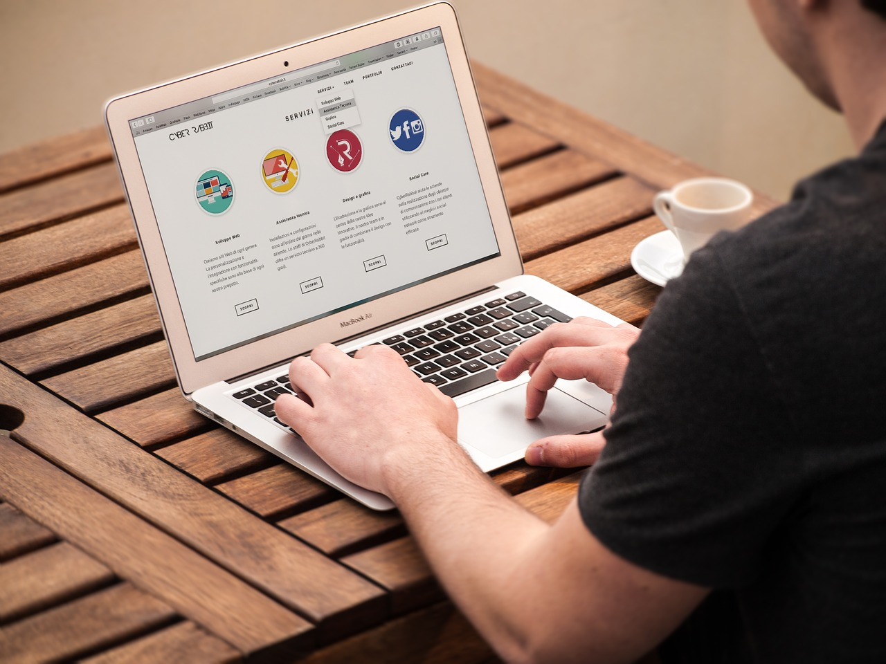 design homepage
