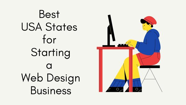 states for starting web design company